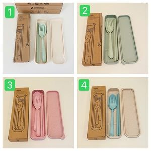 Eco-Friendly Portable Cutlery Set